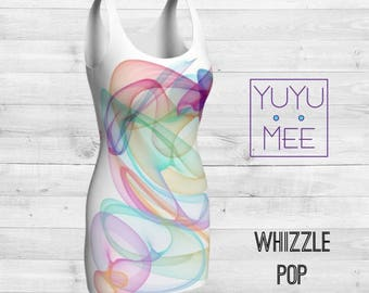 Whizzle Pop Body Con Dress