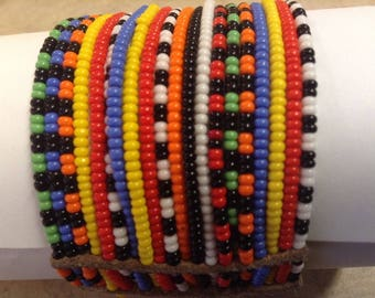 African Jewelry, Native African bracelet tribal boho, African tribal bracelet, African bracelet