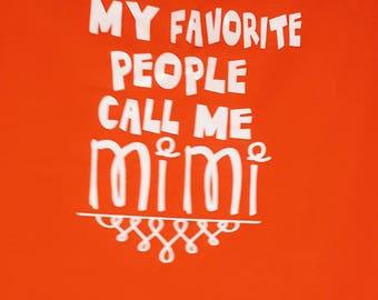 My Favorite people... shirt