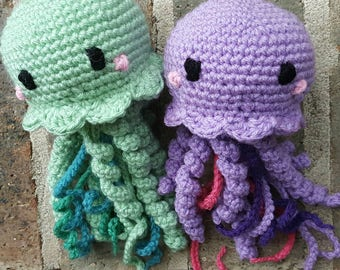 Crochet Jellyfish/Octopus Plush