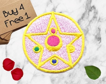 Sailor Moon Patches Symbol Patches Iron On Patch Applique Patches For Jackets