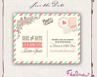 Save the Date custom wedding