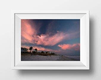Sunset on Pawley's Island South Carolina, Beach