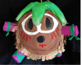 Kakamora piñata inspired by Disney's Moana pinata