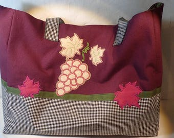 Simple large tote bag