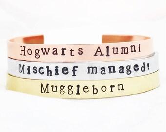 Wizarding World Bracelets.