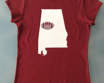 Alabama Football Shirt- Adult M