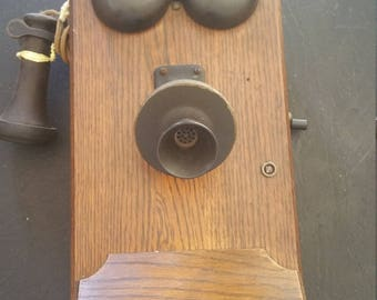 Kellogg telephone from the turn of the century