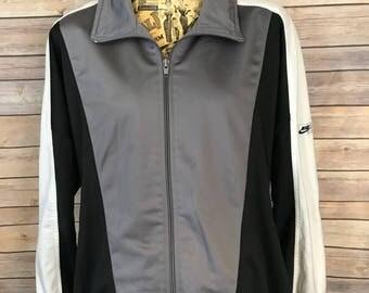 Vintage Nike Swoosh Gray Tag Track Jacket (XXL)