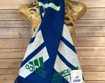Vintage Deadstock Adidas Italia France 1998 Coupe du Monde Scarf