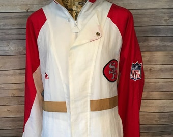 Vintage San Francisco 49ers NFL Full Zip Apex Jacket (XL)