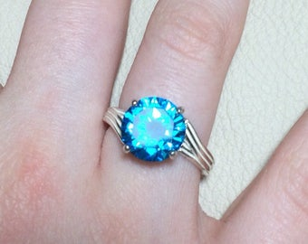 Lake Blue Zircon