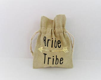 Personalized gift bag/ bridesmaid gift bag/ bride tribe favor bag/ bridesmaid favor bag/ bride tribe gift bag
