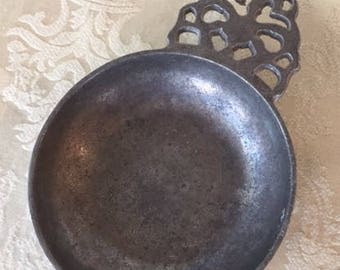 Vintage RWP Wilton Cast Aluminum Porridge Bowl Porridge Dish, Jewellery Dish, Candle Holder 1960s