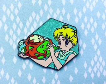 "Sailor Moon ""Thirsty"" Usagi Hard Enamel Pin"