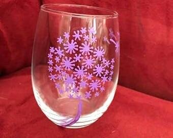 Make A Wish Glasses Light Purple