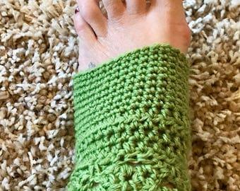 Yoga Socks - Hand Crocheted