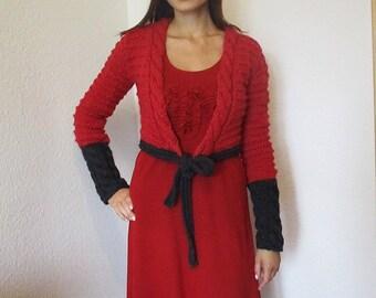 Dress with cardigan, Boho