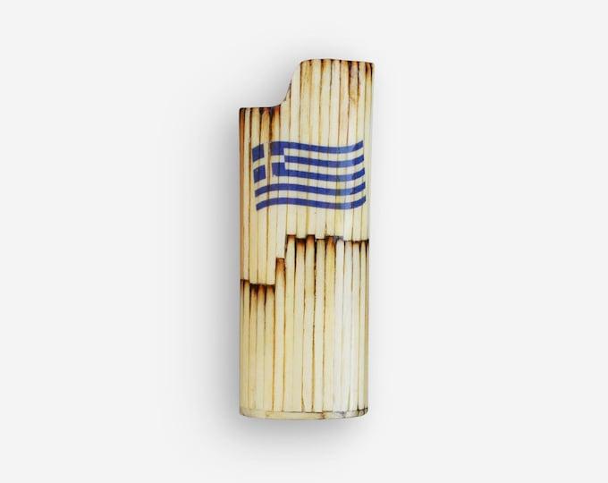 BIC Lighter Sticker, Bic Lighter Case, BIC Lighter Cover, Custom Lighter Case, Flag, Personalized Lighter, Wooden Lighter Case, Handmade