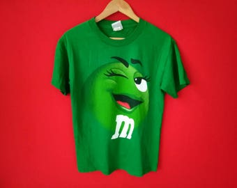 vintage M&M chocolate candies small mens t shirt