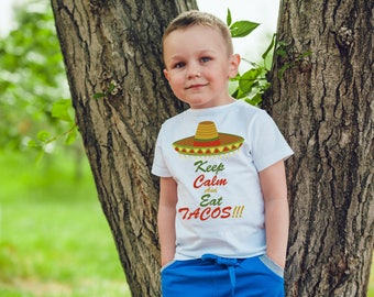 Keep calm and eat tacos,funny kids tshirt,humor,joke burp,outfit,kids onesies,kids outfit clothes,hipster baby,style,hipster kids,fashion