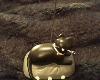 Black Cat Place Card Holder