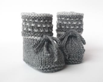 Baby shoes knitted Knitted Baby shoes