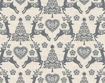 Makower UK - Scandi 4 - Set Reindeer in Silver
