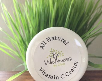 Vitamin C Cream- SUPER FOOD for your SKIN - natural and organic ingredients