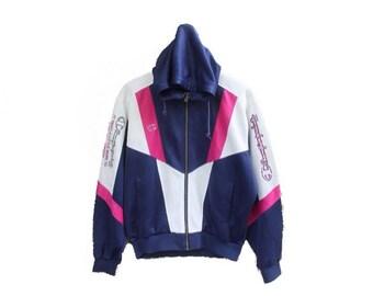 Vintage 90s champion hoodie jacket jumper  champion spellout champion big logo