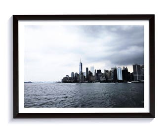 New York City Photography. Framed Print for Interior Design. Manhattan View Fine Art Photography.