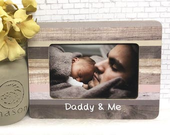 Daddy and me personalized frame, Father's Day frame, personalized dad gift, dad frame, dad and son frame, Father's Day gift