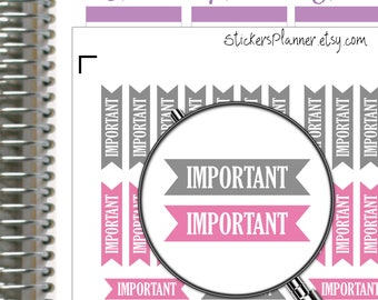 Important Stickers Important Planner Functional Planner Important Header Stickers Erin Condren Stickers Happy Planner Raindow Stickers ik9