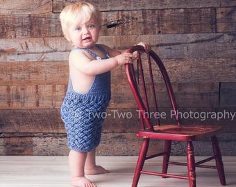 Photo prop, crochet, baby, sitter, toddler overalls, photography prop, sitter outfits, baby romper, baby dungaree