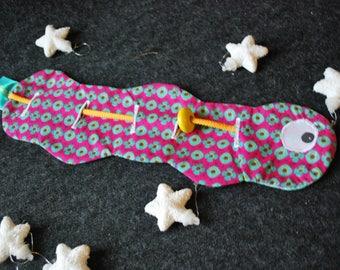 Caterpillar motor / game / motor skills and coordination Montessori inspired