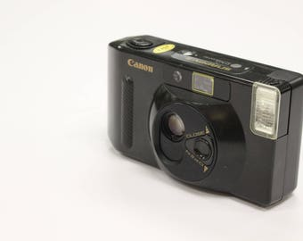 Vintage Canon Snappy S 35mm Point and Shoot Compact Camera