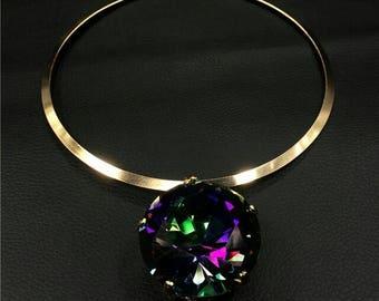 new elegant women choker necklace pendant