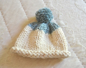 Toddler Cupcake Beanie - Handmade Homemade