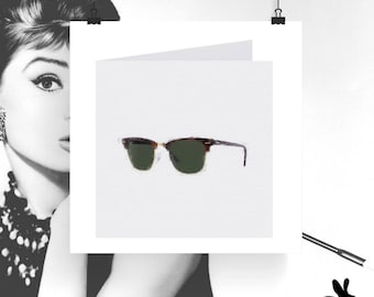 """Watercolour Cards - """"The Right To Choos"""" Ray-Ban Redux"""