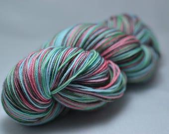 Hand-dyed sock yarn - Sorbetto