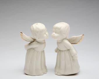 Angel Salt and Pepper Shaker Set