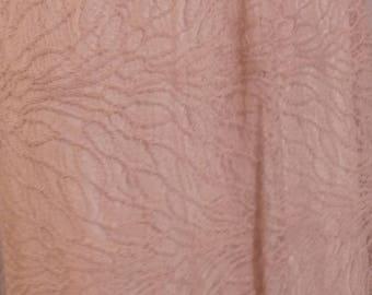 Beige lace short skirt