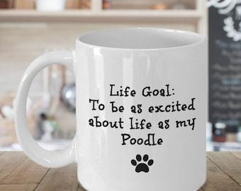 Poodle Gift Idea - Poodle Mug - Poodle Lover - Poodle Gift Items - Poodle Lover Gifts - Standard Poodle - Toy Poodle - Miniature Poodle