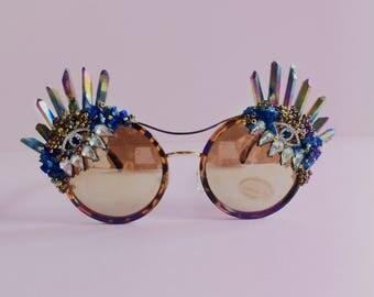 Festival Quartz Evil Eye Sunglasses