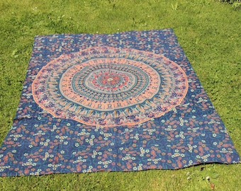 Blanket decor hippie beach pic-nic