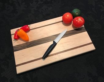 Handmade Maple & Walnut Cutting Board