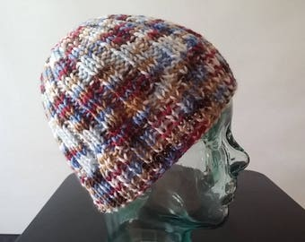 Multi-color ski cap