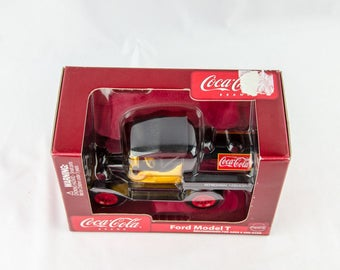 Gearbox Coca Cola Ford Model T 1/24 Diecast Coin Bank