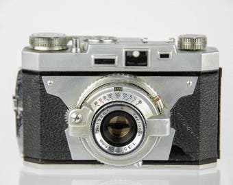 Vintage Taisei Super Westomat 35 35mm Film Camera - Untested For Parts or Repair