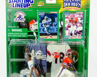 Starting Lineup Classic Doubles NFL Emmitt Smith Cowboys & Gators Action Figure